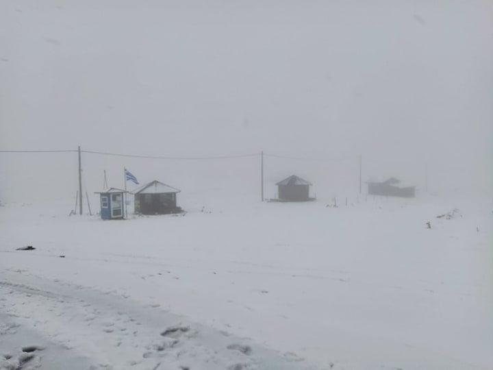 Χιόνια στο Καϊμακτσαλάν - Απόλαυσε τις όμορφες εικόνες