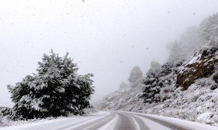 Χιόνια στο Καϊμακτσαλάν – Απόλαυσε τις όμορφες εικόνες