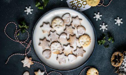 Μπισκότα cookies για τα Χριστούγεννα