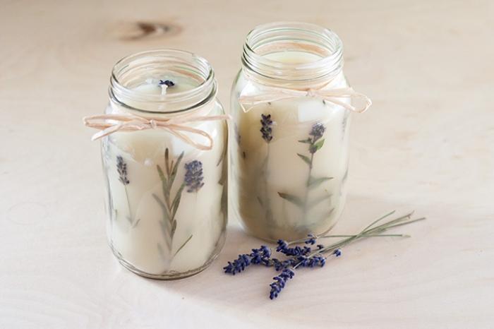 Πώς να φτιάξεις σπιτικό αρωματικό κερί από βότανα