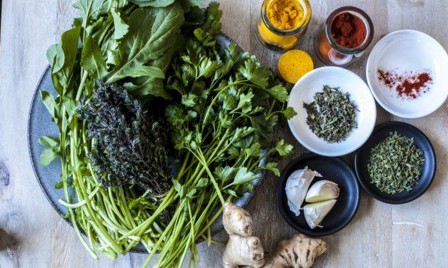"""Τα ελληνικά αρωματικά φαρμακευτικά φυτά – """"υπερτροφές"""" για τη διατροφή μας"""