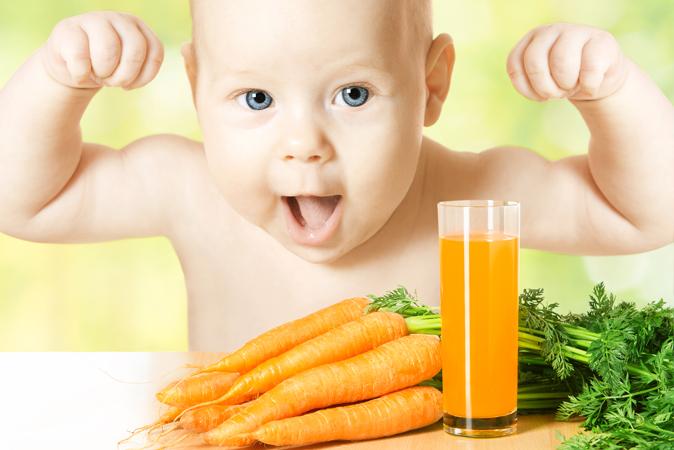 Χυμός καρότο: Καροτίνη, κάλιο, βιταμίνη Α, βιταμίνη C