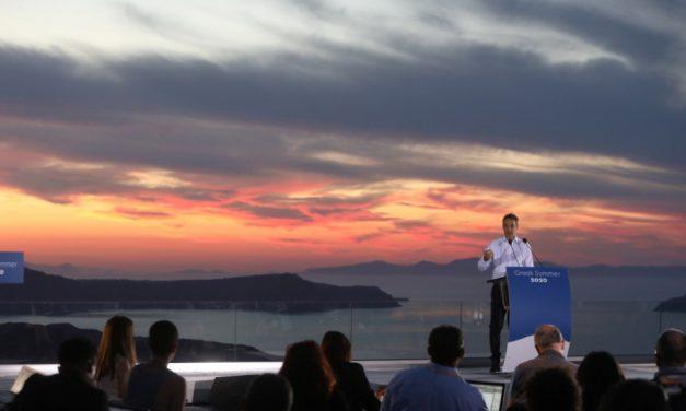 Κυρ. Μητσοτάκης: Η Ελλάδα είναι ανοιχτή, ελάτε για ελληνικό καλοκαίρι