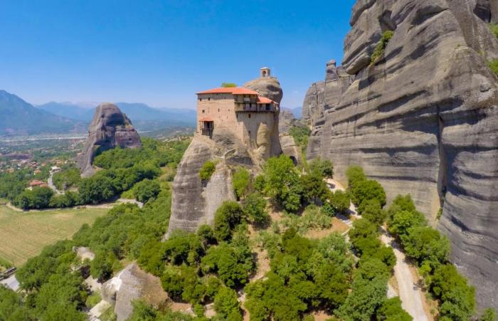 Η Μονή Αγίου Νικολάου Αναπαυσά
